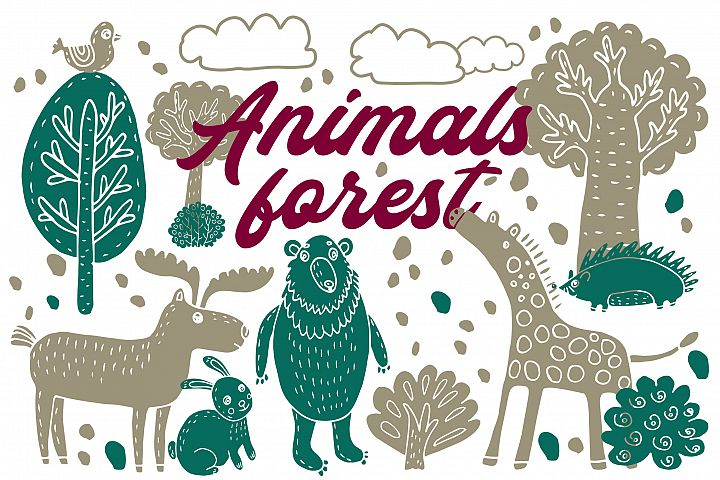 Animals forest