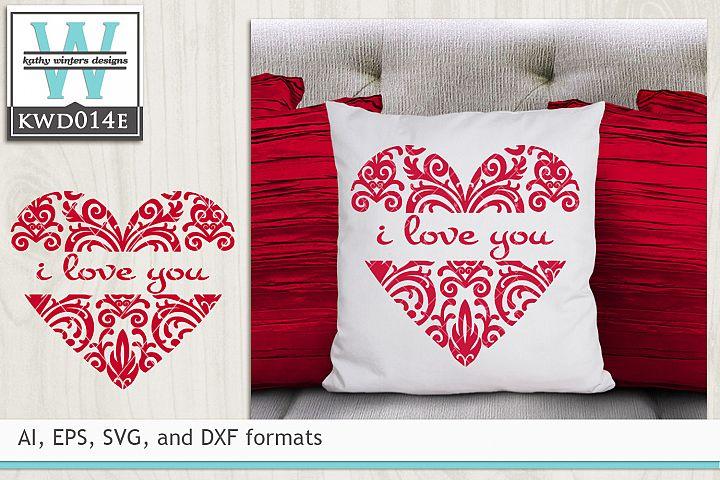 Valentines SVG - Heart