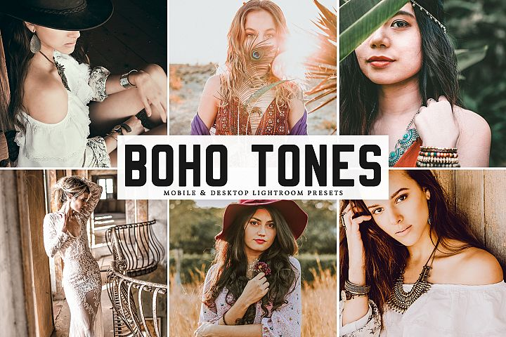 Boho Tones Mobile & Desktop Lightroom Presets