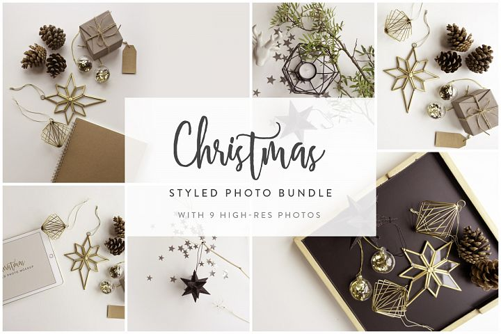 Christmas Styled Photo&Mockup #01