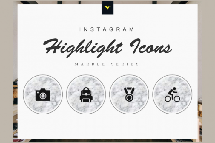190 Set of Completed Instagram Highlight Cover Icons