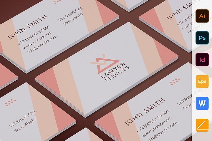 Legal Services Business Card