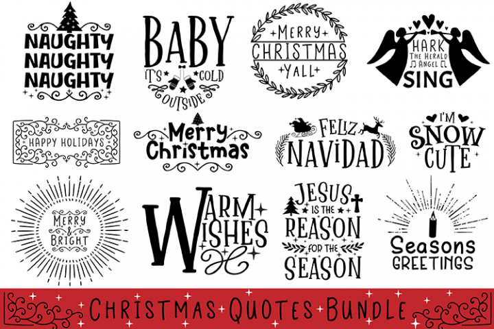 Christmas Quotes Bundle