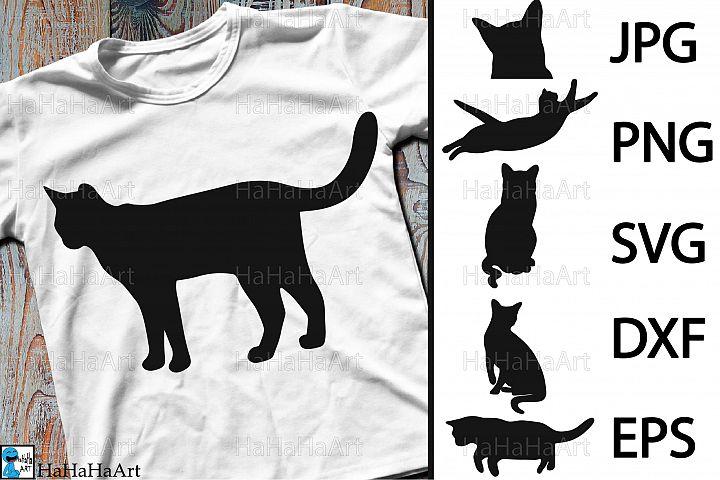 Monogram Cats Designs - Clip art / Cutting Files 99c