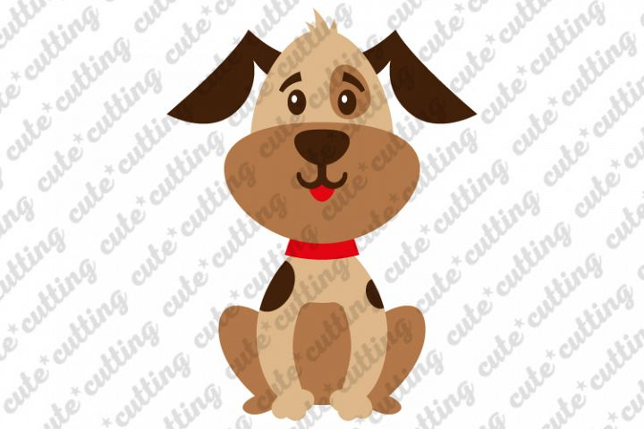 Puppy svg, Cute puppy svg, dog svg, little dog svg, png, dxf