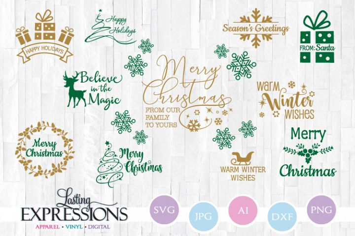 Christmas Quote Bundle