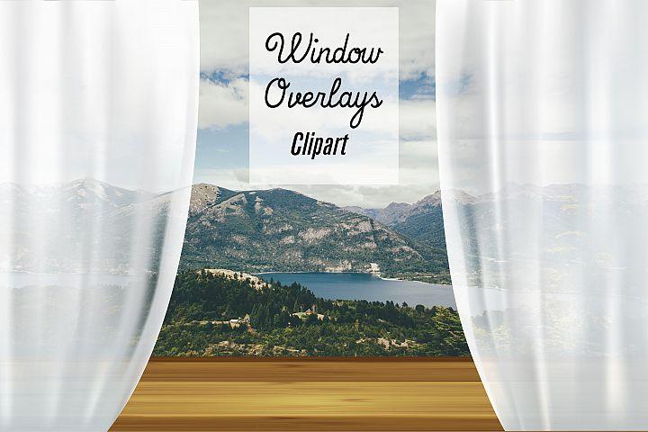 Window Overlays, Window Frames Clipart
