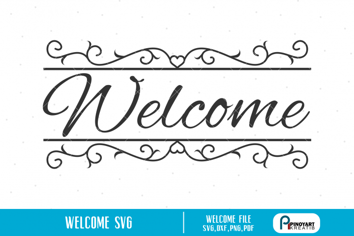Welcome svg - a welcome vector file
