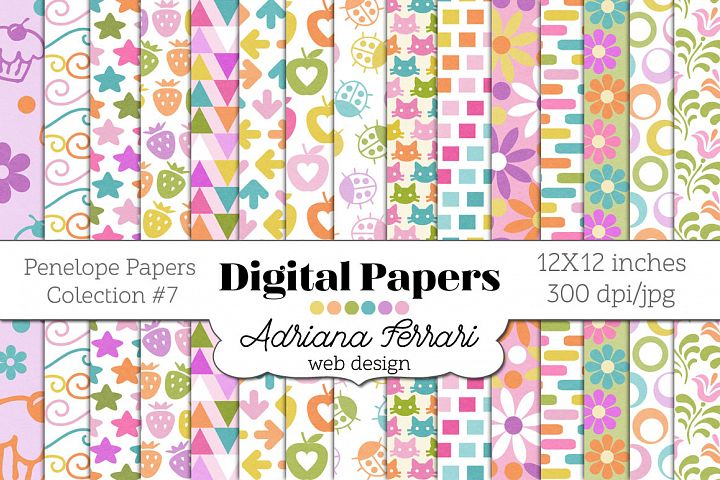 Penelope Papers Colection 7