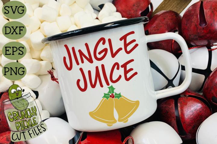 Jingle Juice Christmas SVG File