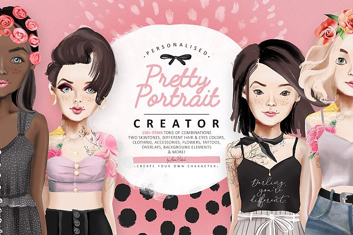 Pretty Portrait Creator