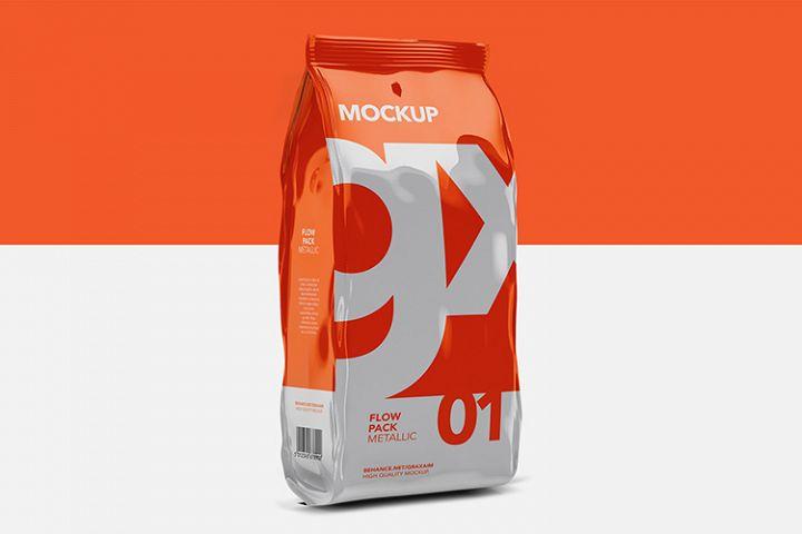 Flow Pack - Mockup - Metallic