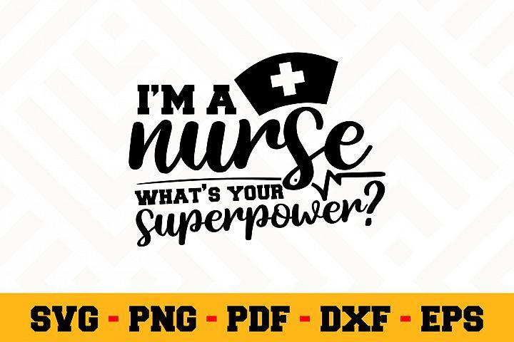Nurse SVG Design n596 | Nurse SVG Cut File