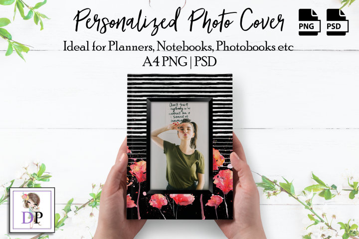 Photo Cover Frame Art for Planner, Notebook, Photobook St1 2