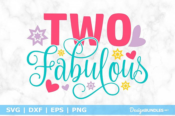 Two Fabulous SVG File