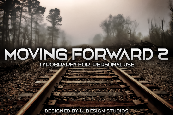 Moving Forward Pack fonts