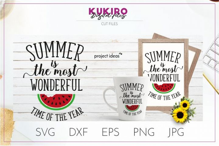 Summer is the most wonderful time of the year SVG - Summer