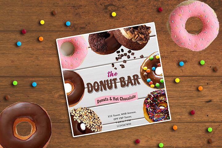 Donut Bar Banner