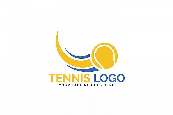Tennis Sport Logo Design.