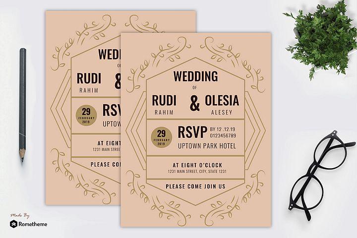 Wedding Invitation vol. 07