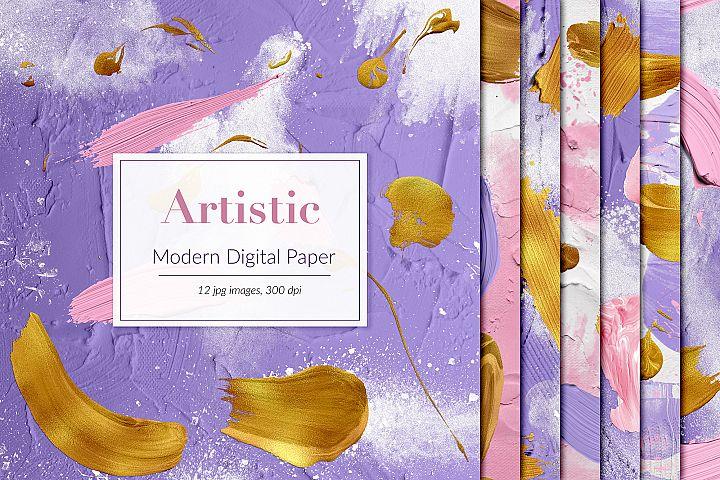 Powder Digital Paper, Dust Backgrounds