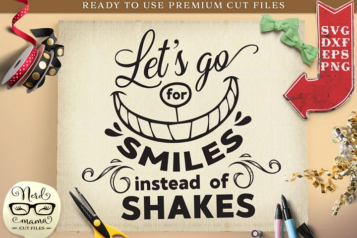 Lets go for smiles Social Distancing Cut File