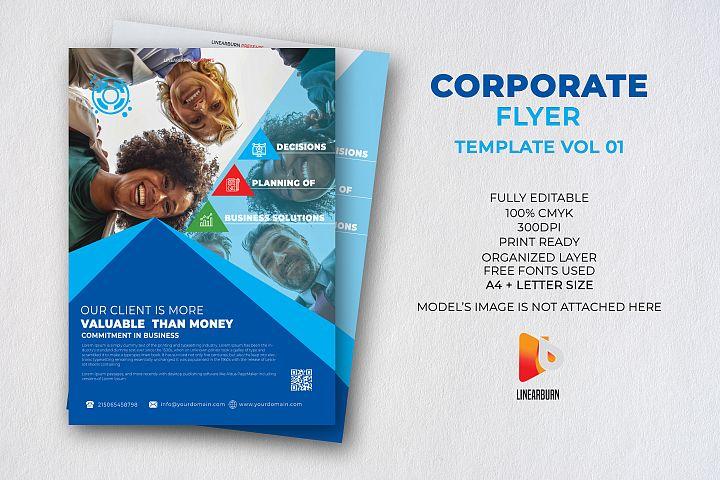 Corporate Flyer Template Vol 01
