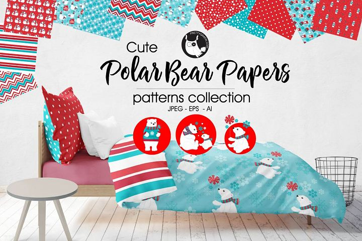 POLAR-BEAR-PAPER , digital papers