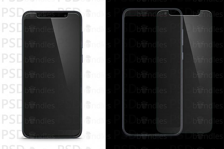 Asus Zenfone Max Pro M1 Tempered Glass Template