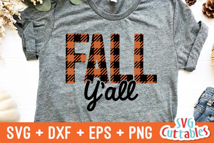 Fall Yall   Fall SVG Cut File