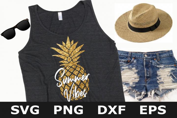 Summer Vibes - A Summer SVG Cut File