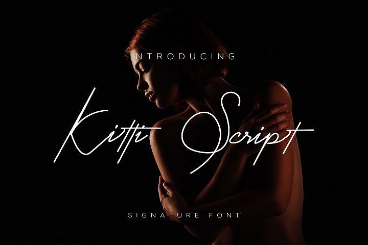 Kitti Font Script