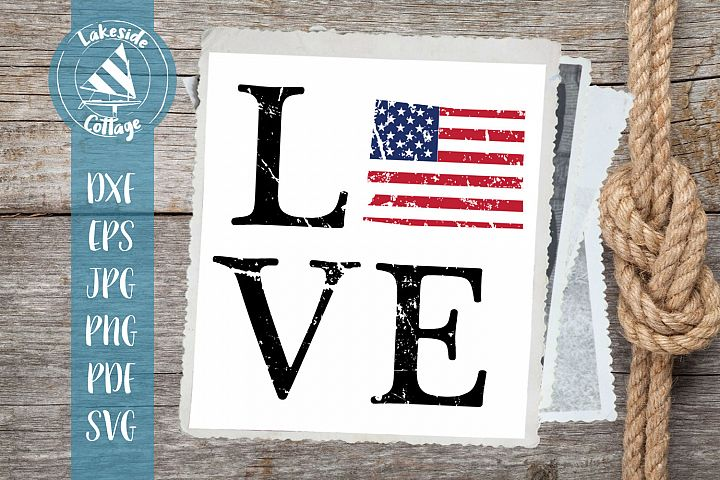 LOVE Wyoming - 4th of july svg - memorial day svg dxf eps