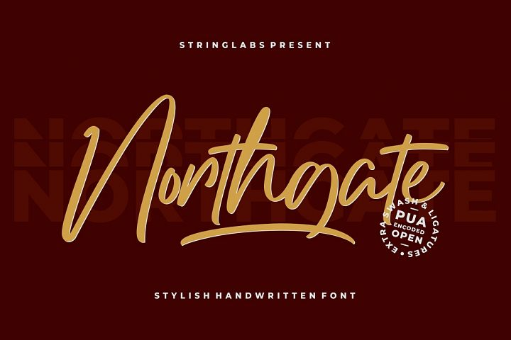 Northgate - Stylish Handwritten Font