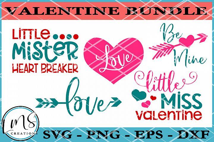 Valentine Bundle SVG, PNG, EPS, DXF