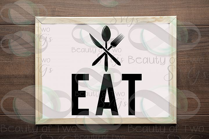 Eat Kitchen Farmhouse sign design svg and png, Farmhouse svg
