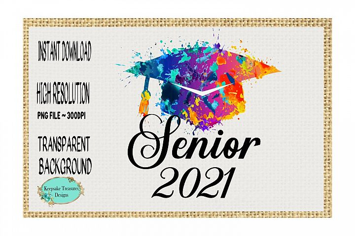 Senior 2021 Graduation Hat