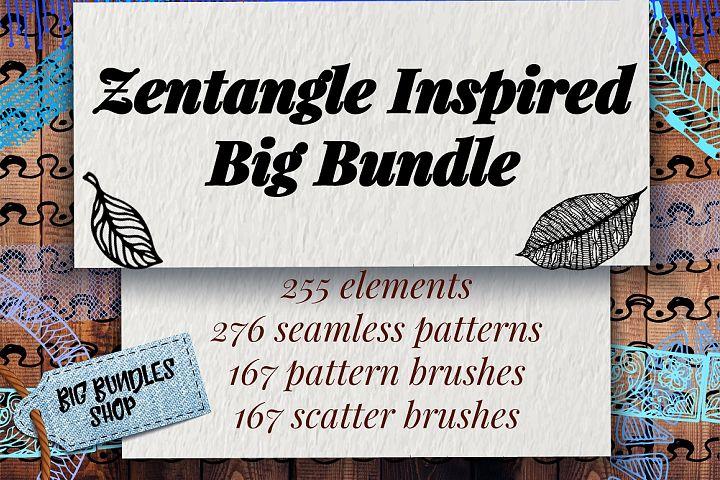 Zentangle Inspired Big Bundle