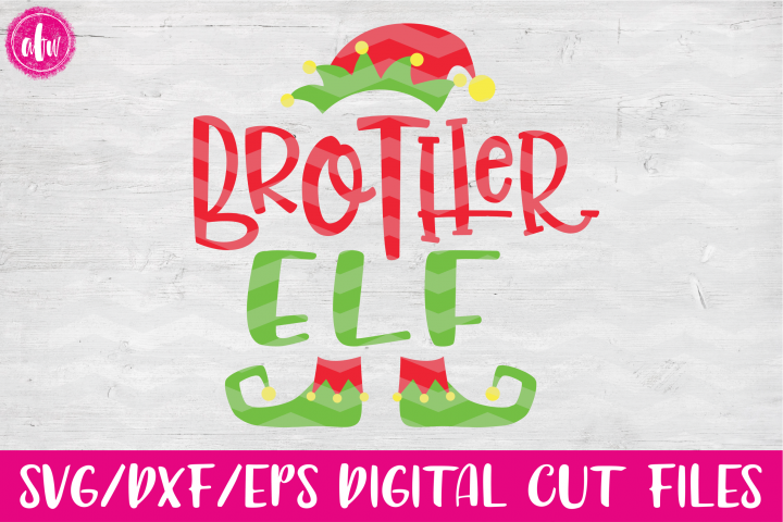 Brother Elf - SVG, DXF, EPS Cut Files