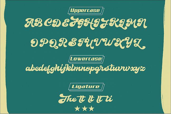 The Retropus Font example 4