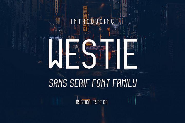 Westie Typeface