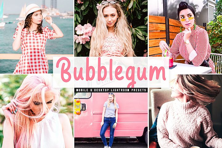 Bubblegum Mobile & Desktop Lightroom Presets