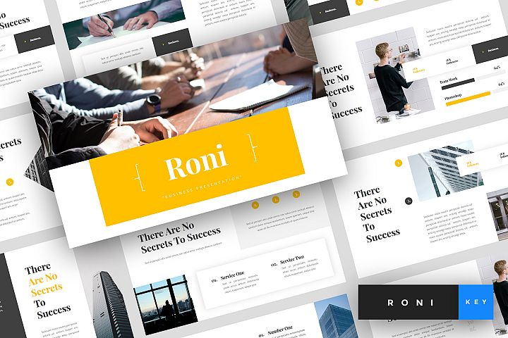 Roni - Business Keynote Template