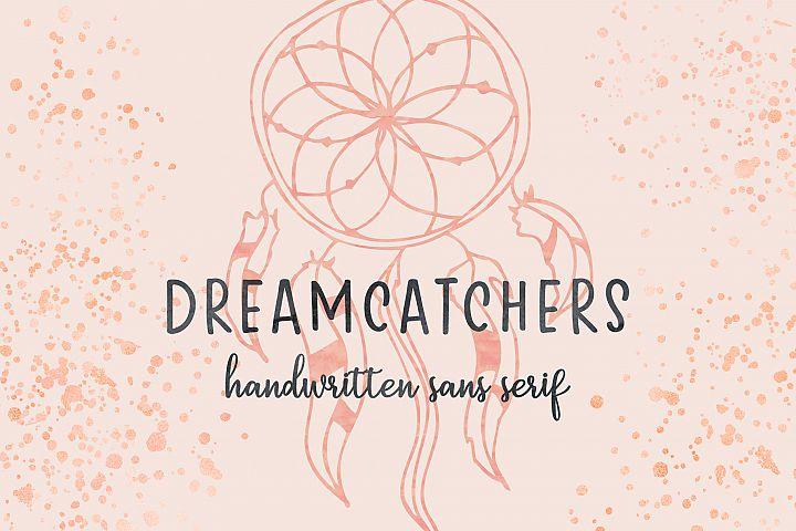 Dreamcatchers | A Playful Sans Serif