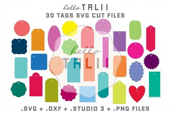 Tags SVG Cutting Files BUNDLE