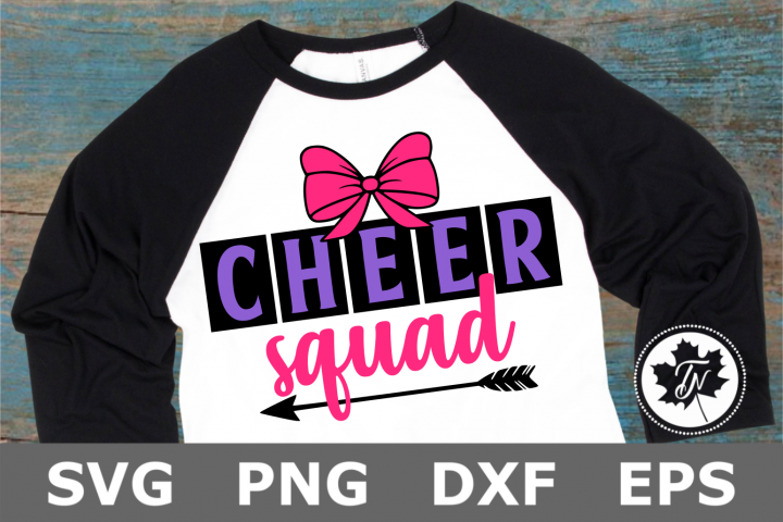 Cheer Squad - A Sports SVG Cut File