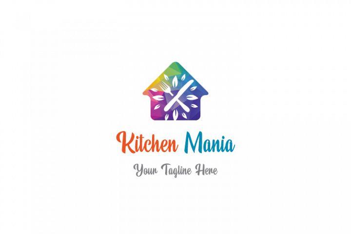 Hut Shape Kitchen Logo