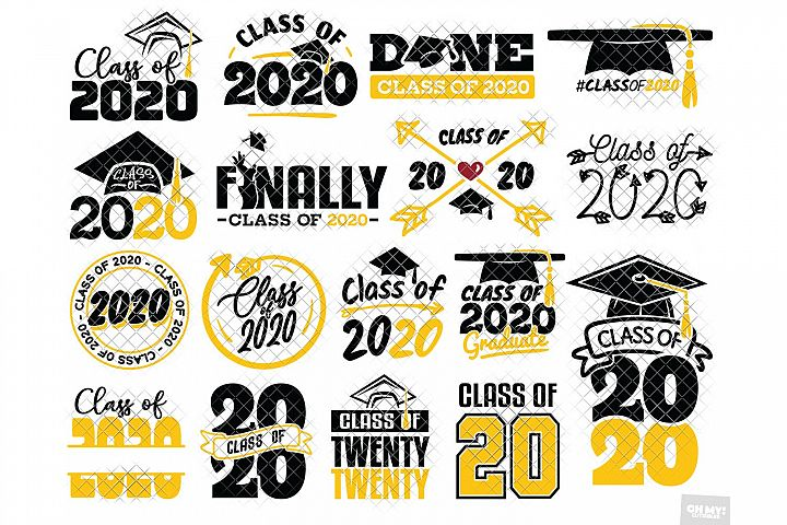 Class of 2020 SVG & Sublimation in SVG,DXF,PNG, JPG, EPS