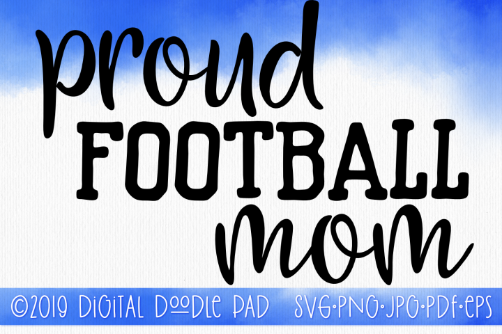 Football Mom SVG, Sports SVG