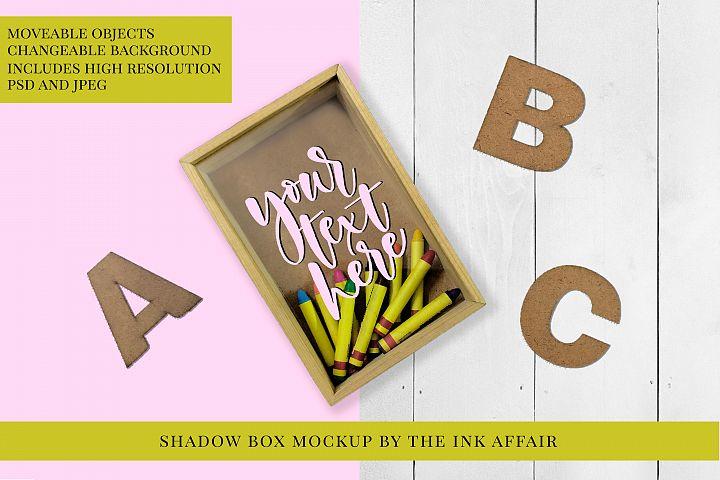 Shadow Box Mock up